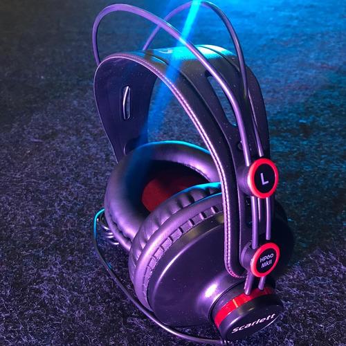 headphone focusrite scarlett studio 2i2 , novo, somos loja!