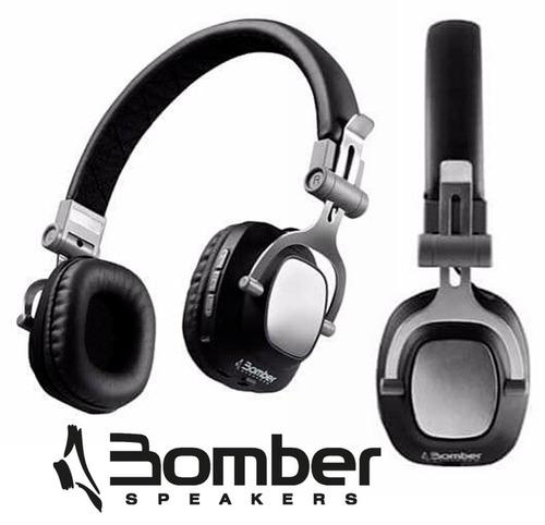 headphone fone de ouvido bomber quaker hb11 bluettoth