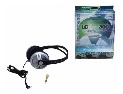 headphone fone lyco lc pro 300 profissional   garantia e nfe