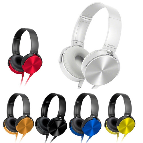 headphone fone ouvido mdr-xb450ap extra bass