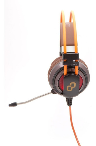 headphone gamer goldentec gt attack 7.1 laranja