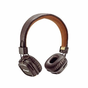 headphone headset fone marshall major brown marrom pitch