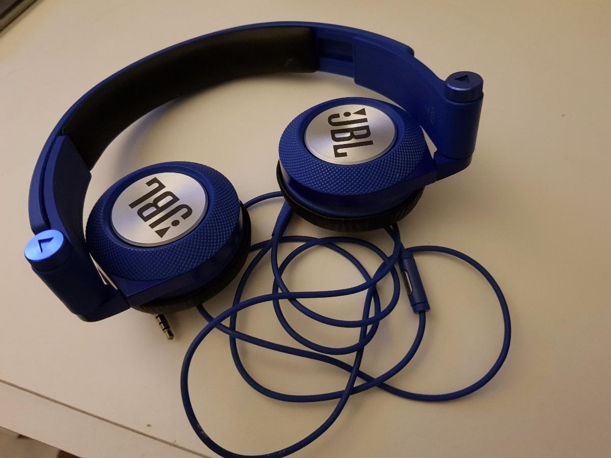 Headphone Jbl Com Microfone Synchros E30 Azul R 16990 Em Headset Carregando Zoom