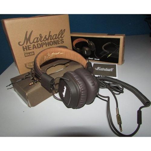 headphone major black - marshall promoção!!