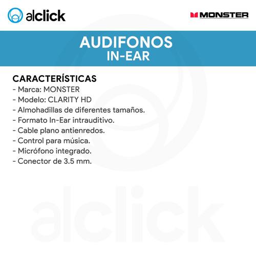 headphone monster clarity high definition original alclick