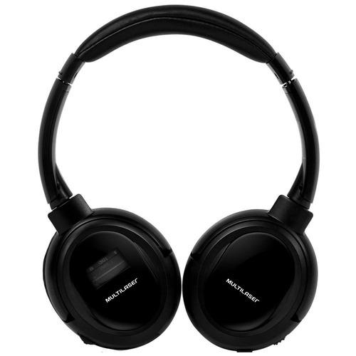 headphone multilaser ph095, preto, bluetooth