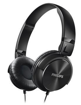 headphone philips shl3165bk/00 - preto