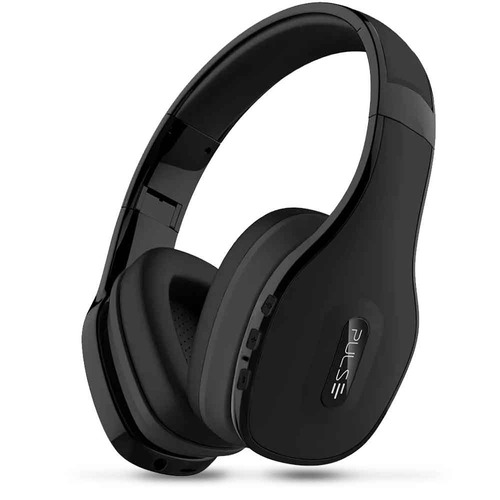 headphone pulse bluetooth over-ear stereo preto ph150