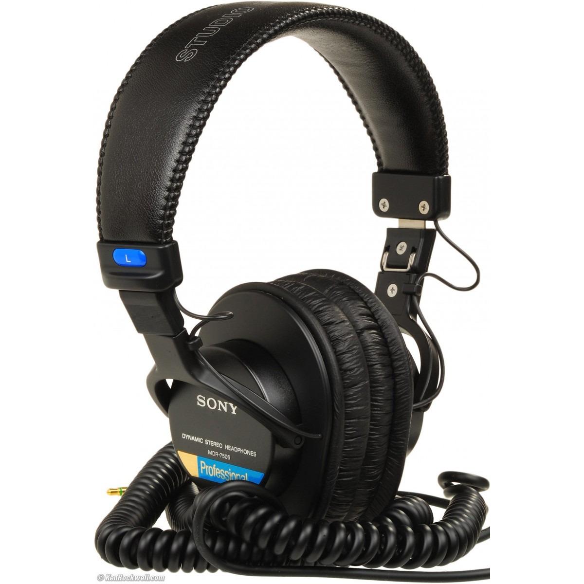 Headphone Sony Mdr-7506 Fone Profissional - R$ 478,98 em