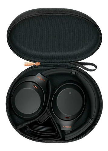 headphone sony wh-1000xm3 com noise cancelling preto