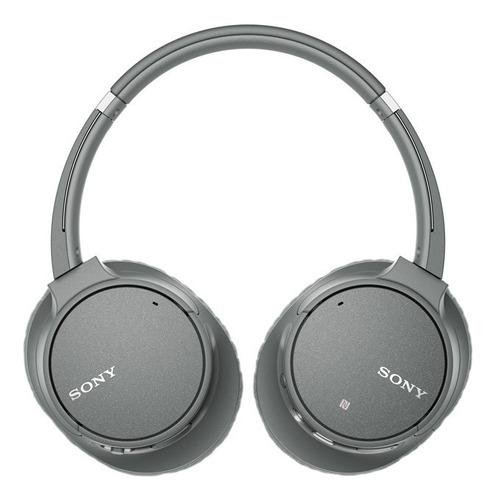 headphone sony wh-ch700n com noise cancelling sem fio cinza