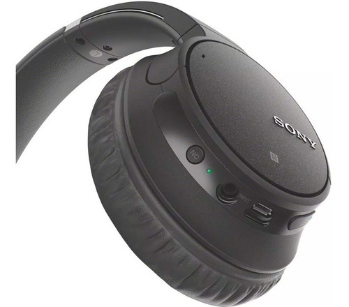 headphone sony wh-ch700n com noise cancelling sem fio preto