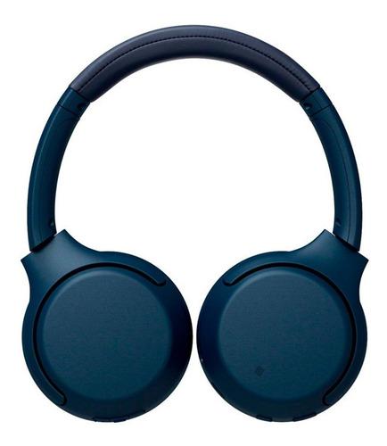 headphone sony wh-xb700 sem fio bluetooth com extra bass azu