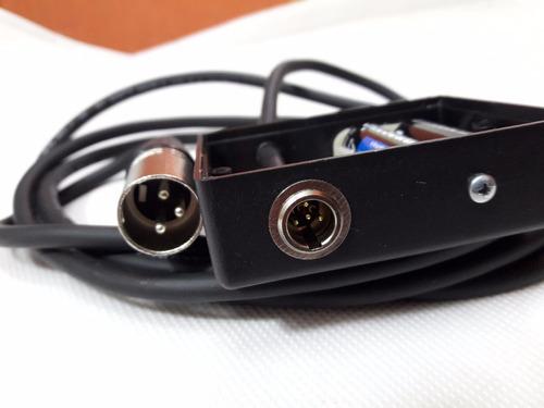 headset ativo e lapela dispensa  sistema sem fio box ativo