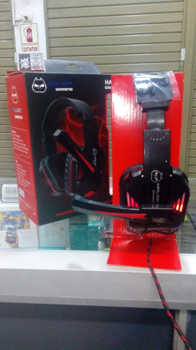 headset audifono gamer halion x50  luces con micrófono