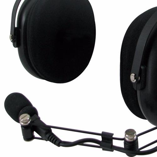 headset audifono mic kenwood khs-10-oh noise reduct uso rudo