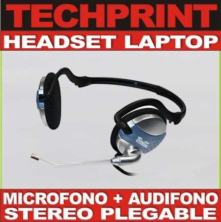 headset audifono microfono laptop portatil stereo audio