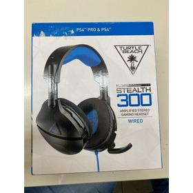 Headset Com Fio Ear Force Stealth 300 Preto Plug P2 3.5mm