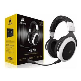 Headset Corsair Hs70 Wireless 7.1 White Ca-9011177-na