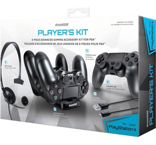 headset dreamgear grx-340 para ps4