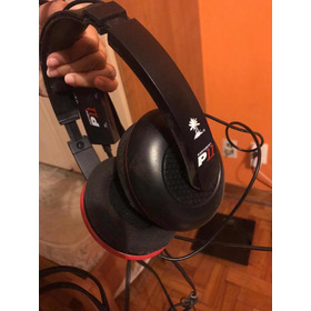 Headset Ear Force (vermelho E Preto)