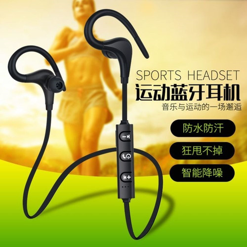 headset esportivo sem fio corrida musica wireless bluetooth