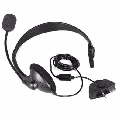 headset fone de ouvido com microfone para xbox 360 live