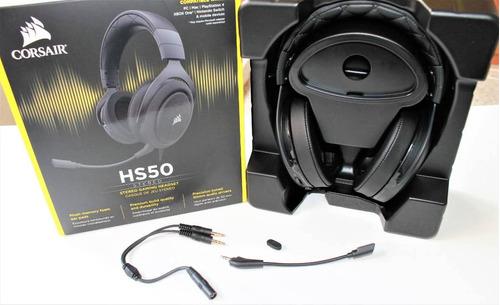 headset gamer corsair carbon hs50 ps4 xbox