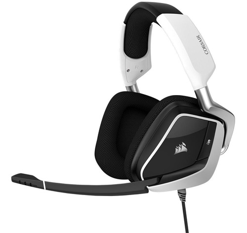headset gamer corsair void rgb elite usb, 7.1 som surround