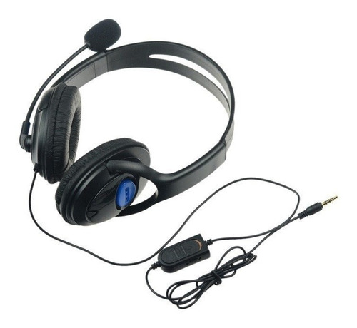 headset gamer fone ouvido microfone sony playstation ps4 h12