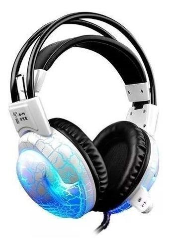 headset gamer led p2 x usb ps4, pc headset barato s/ juros