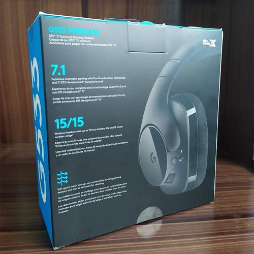 headset gamer logitech g533 7.1 wireless