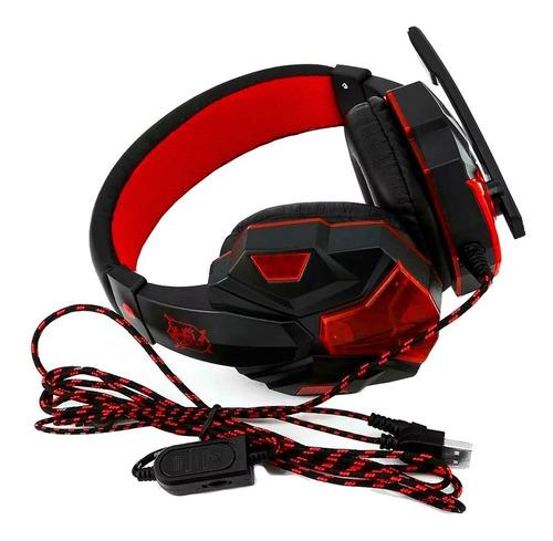 headset gamer pc fone ouvido ps4 celular 7.1 pro p2 usb led