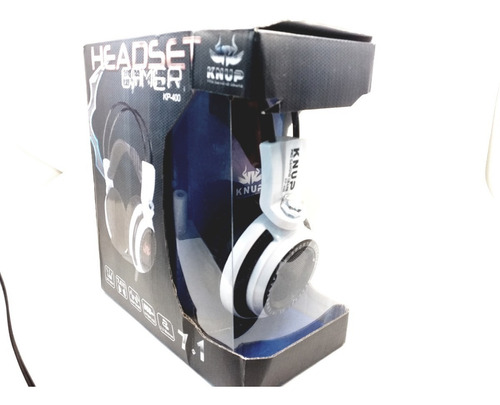 headset gamer7.1 knup usb p2 com fio pc ps4 xbox one kp-400