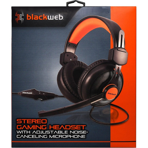 Headset Gaming Black Web Stereo Ps4 / Pc / Xone / Mobile