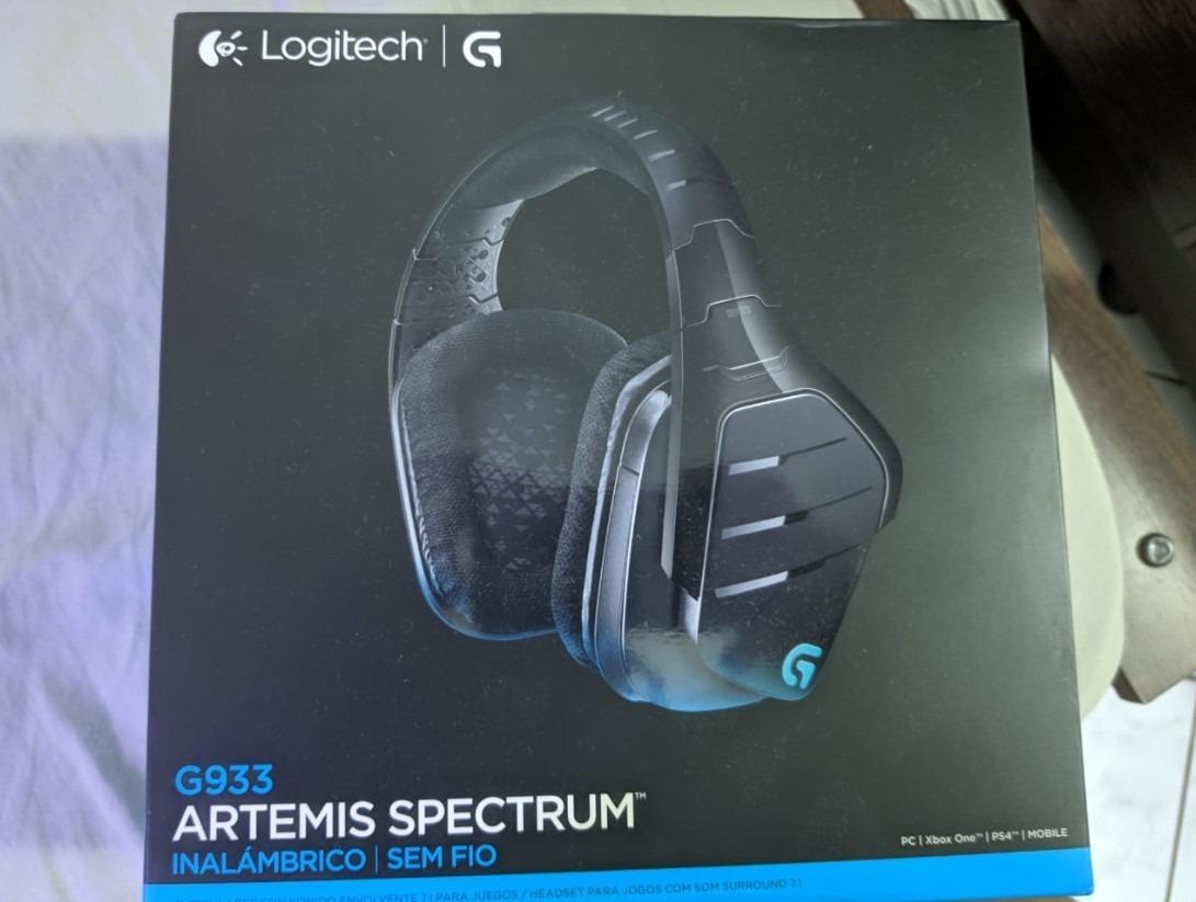 Headset Logitech G933 Wiriles Rgb Artemis, Leia A Descrição!