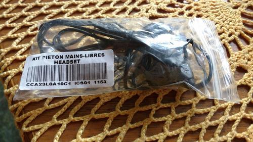 headset mini usb kit pieton mains-libres headset