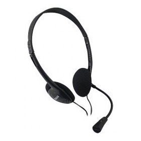 Headset Multimídia Multilaser -  Preto  Ph002