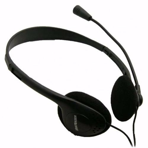 headset multimídia multilaser -  preto  ph002