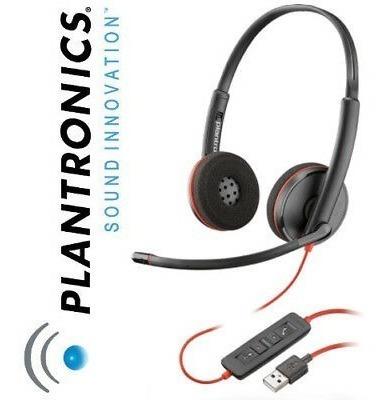 headset plantronics blackwire c3220 usb, remplazo audio 628