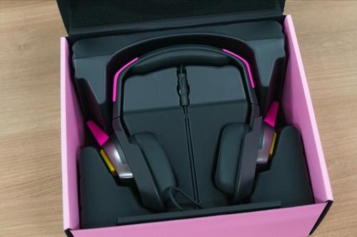 headset razer dva meka overwatch rosa p2 pc ps4 xbox one