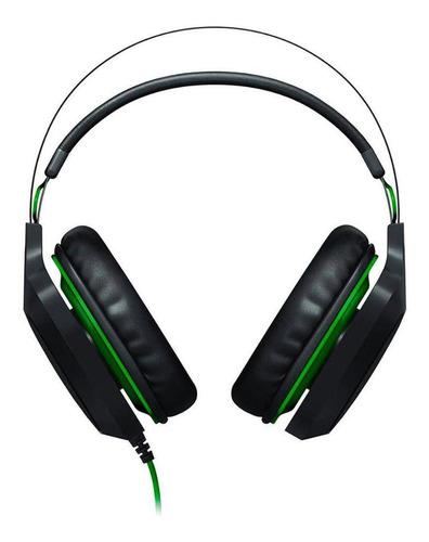 headset razer electra v2 usb com microfone removivel preto