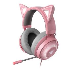 Headset Razer Kraken Kitty Edition Quartz Chroma - Gatinho