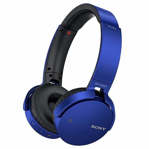 headset sem fio stereo bluetooth extra bass azul sony