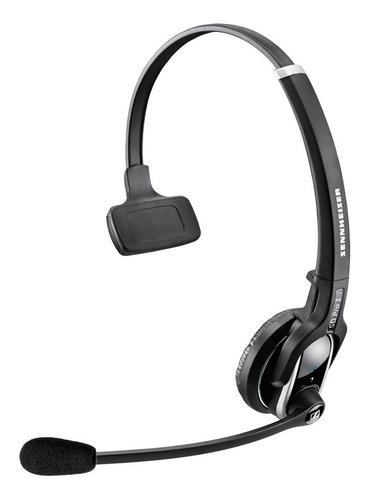 headset sennheiser c/ estação de base p/ contact centers