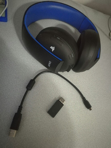 headset sony gold wireless 7.1 ps4 ps3