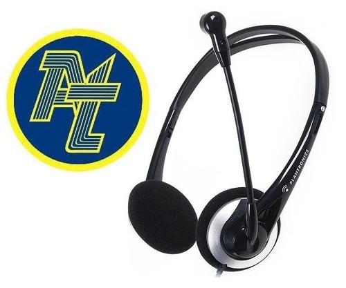 headset vincha cabezal plantronics audio 326, auriculares