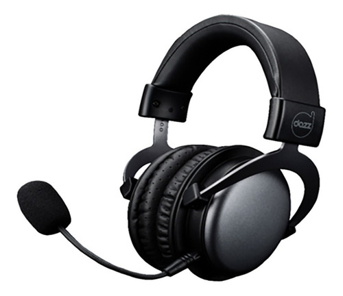 headset viper black dazz 3.5mm p3