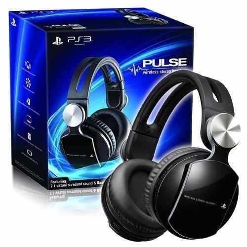 Headset Wireless Stereo Sony 7 1 Pulse Elite Edition Ps3