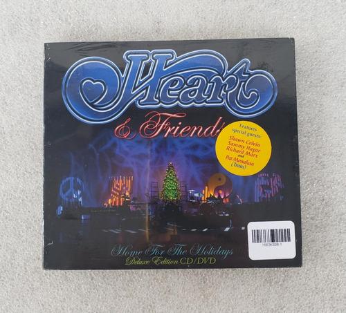 heart & friends - home for the holidays [cd+dvd] lacrado im